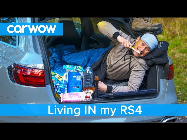Living IN my Audi RS4 - find out what can go WRONG when you sleep in your car!
