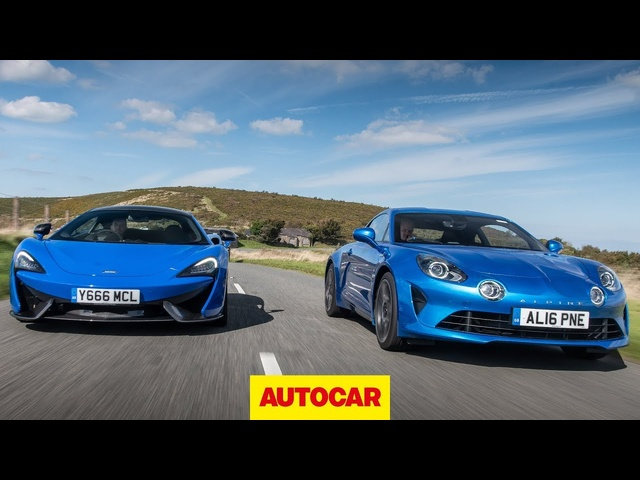 McLaren 570S vs <em>Alpine</em> A110 - Which is the ultimate driver's car? | Autocar