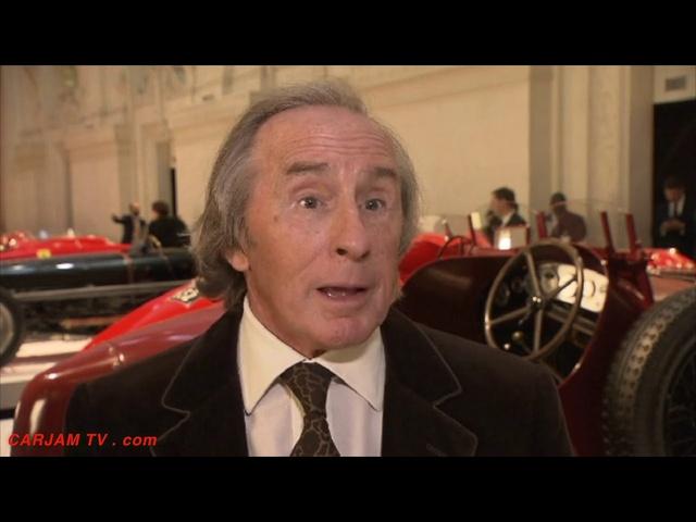Sir Jackie Stewart Talks Ralph Lauren's Amazing Car Collection + Favorite Ferrari Cars Paris 2011
