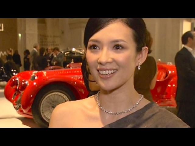 Zhang Ziyi Mélanie Thierry Favorite Cars Ralph Lauren Car Collection Paris 2011