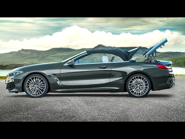 BMW M850i xDrive Convertible World Premiere New G14 BMW 8 Series Cabrio 2019 BMW Promo