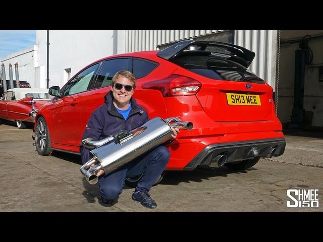 My Focus RS has an XForce Varex Exhaust! | PROJECT PART 6