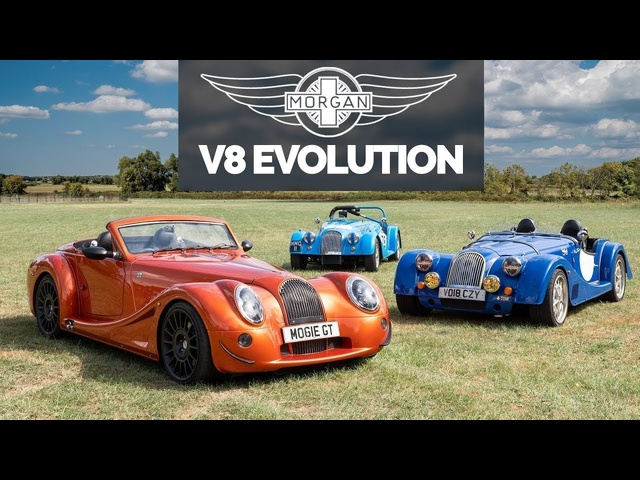 Morgan And The Mighty V8: Brutal Sophistication - Carfection