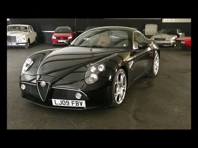 Alfa Romeo 8C Competizione detailed review