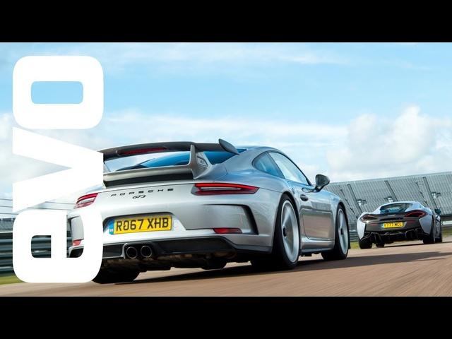 Porsche 911 GT3 v <em>McLaren</em> 570S Track Pack -DEADLY RIVALS