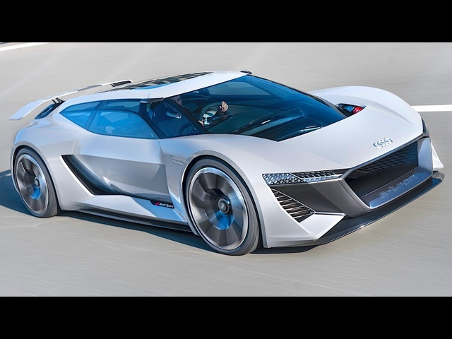 <em>Audi</em> Electric Shooting Brake + Race Car Combined Allan McNish New <em>Audi</em> e-tron 2019