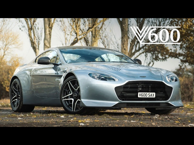 Aston Martin V12 Vantage V600: Analogue Excellence - Carfection 4K