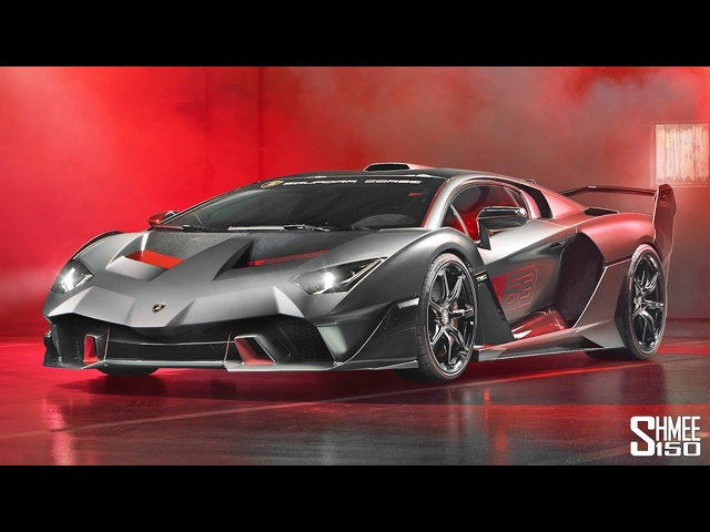 The <em>Lamborghini</em> SC18 Alston is the Maddest Lambo Ever!
