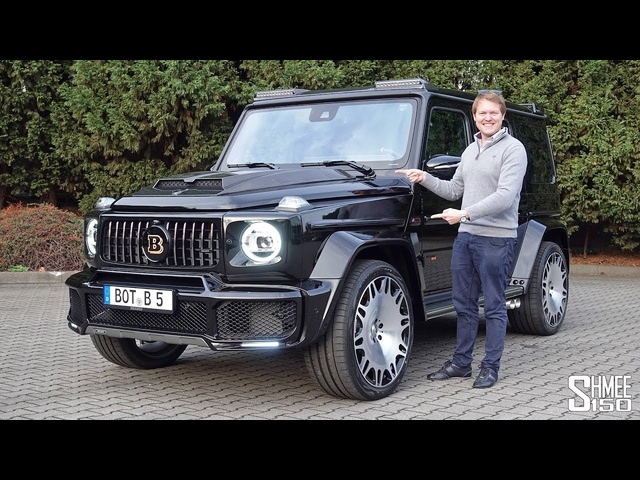 The Brabus 700 G63 Widestar is a Mercedes-AMG G Wagon on STEROIDS!