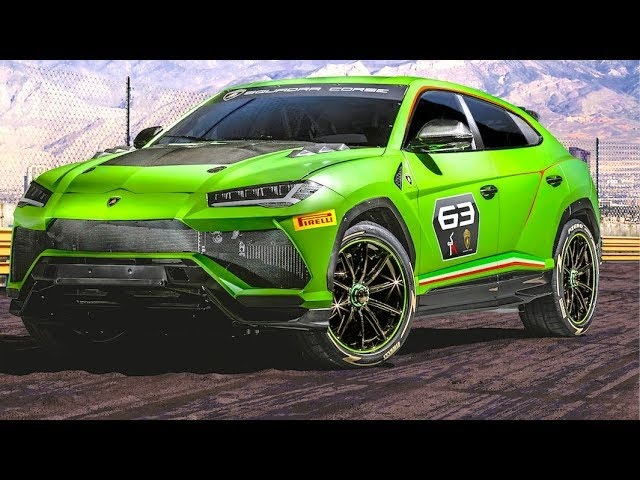 Lamborghini Urus ST-X Super SUV Racing World Premiere New Lamborghini Urus Race Video Carjam TV