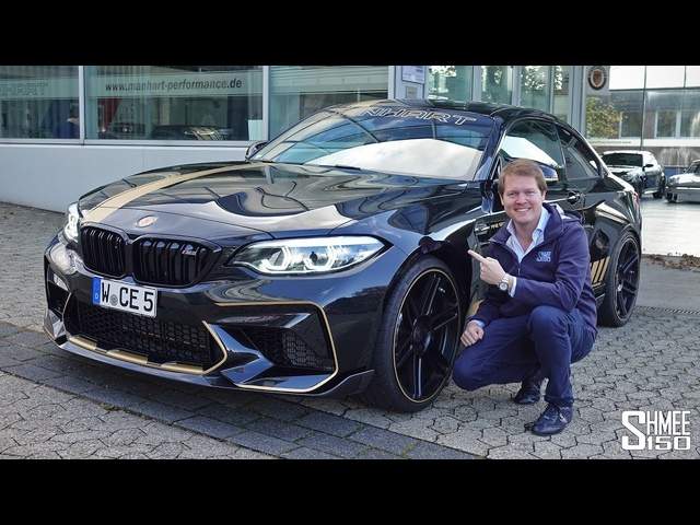 The Manhart MH2 550 is a SCARY 550hp BMW M2 Competition!