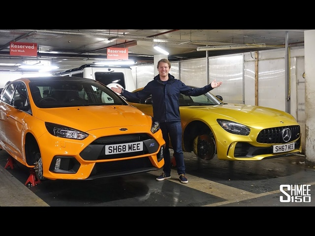 GARAGE CARNAGE! AMG GT R and Focus RS Errands