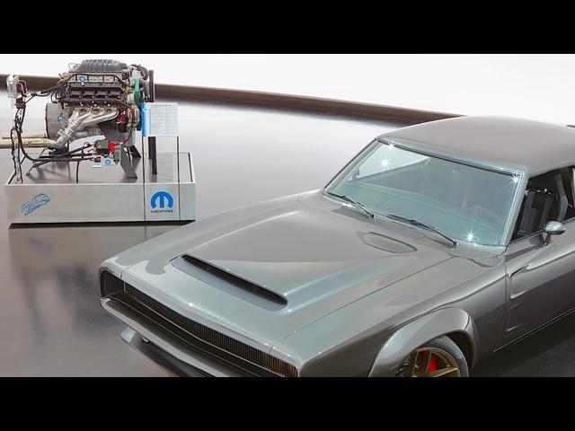 Helephant Engine Sound Video Demo 1000HP 426 Crate HEMI Engine Helephant Review
