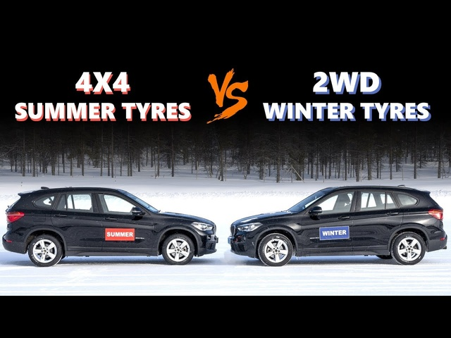 4WD VS Winter Tyres -Do you need winter tyres if you have 4WD?