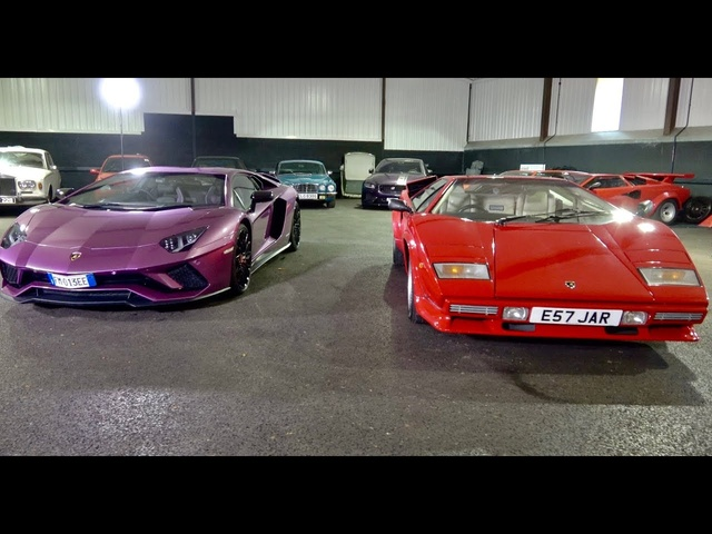 <em>Lamborghini</em> Aventador S review plus comparison to Countach QV