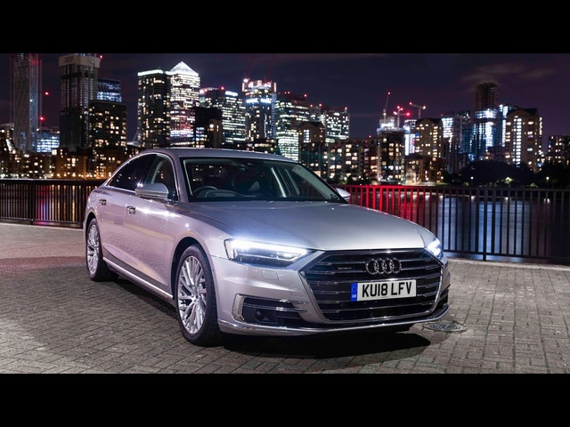 New <em>Audi</em> A8: The Best Car For Driving At Night? - Carfection (4K)