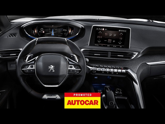 Promoted: The <em>PEUGEOT</em> 3008 SUV – i-Cockpit® | Autocar