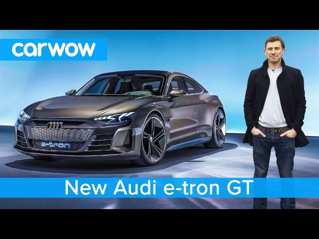 NEW Audi e-tron GT - is this EV a <em>Tesla</em> Model S beater?