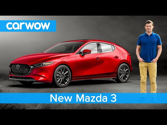 NEW <em>Mazda</em> 3 2019 revealed - see why it's the most stylish small car ever!