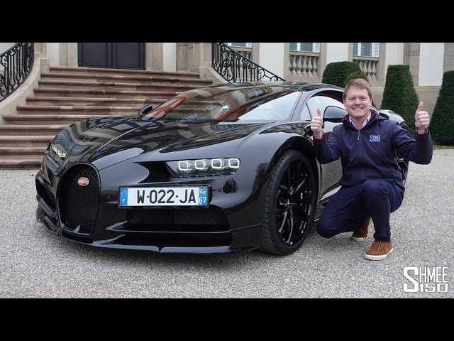 VISITING BUGATTI! Chiron Factory Tour and Test Drive