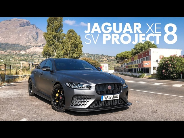 Jaguar XE SV Project 8: Reviewing a Road Racer on the Targa Florio - Carfection (4K)