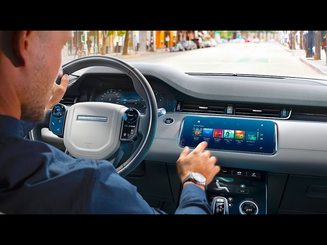 New Range Rover Evoque INTERIOR + Video Rear View Mirror 2019 Interior Evoque