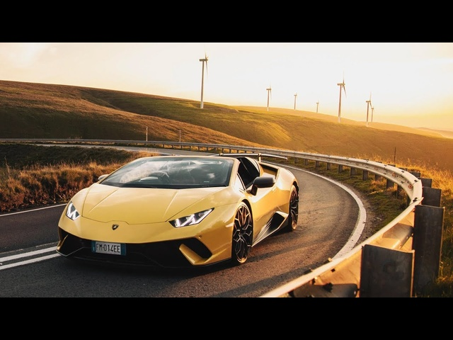 <em>Lamborghini</em> Huracán Performante Spyder: Requiem For A V10 - Carfection (4K)