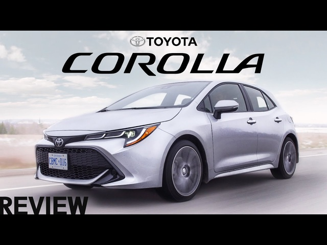 2019 <em>Toyota</em> Corolla Hatchback Review - Save The Manuals