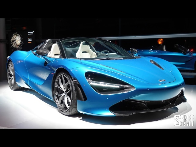 Here's the New McLaren 720S Spider - The Roof is Off! | FIRST LOOK