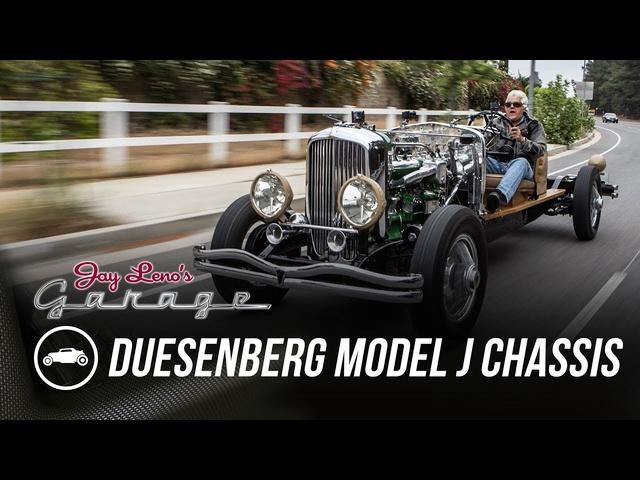 1931 Duesenberg Model J Chassis -Jay Leno's Garage
