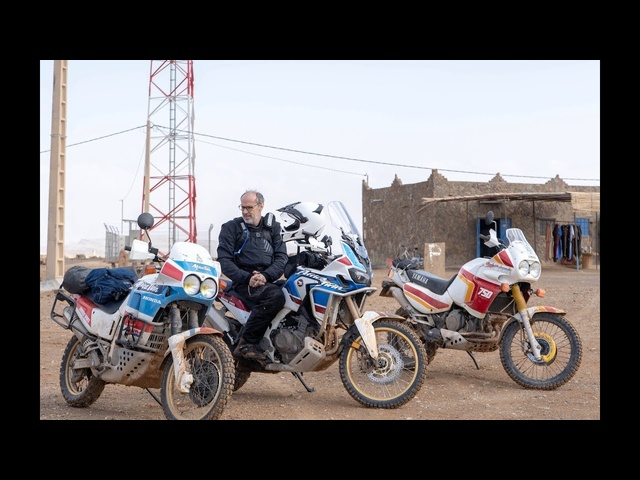 Harry's Garage Moroccan adventure bike special Part2 on a <em>Honda</em> Africa Twin