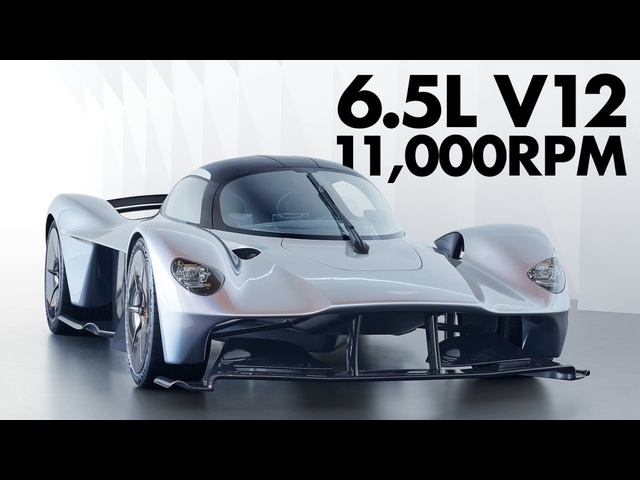 Hear The Future Of The Supercar At 11,000rpm: The Aston Martin Valkyrie's V12 - Carfection