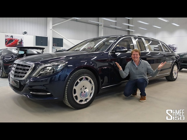 The <em>Maybach</em> S600 Pullman is the Most Opulent Limo EVER!