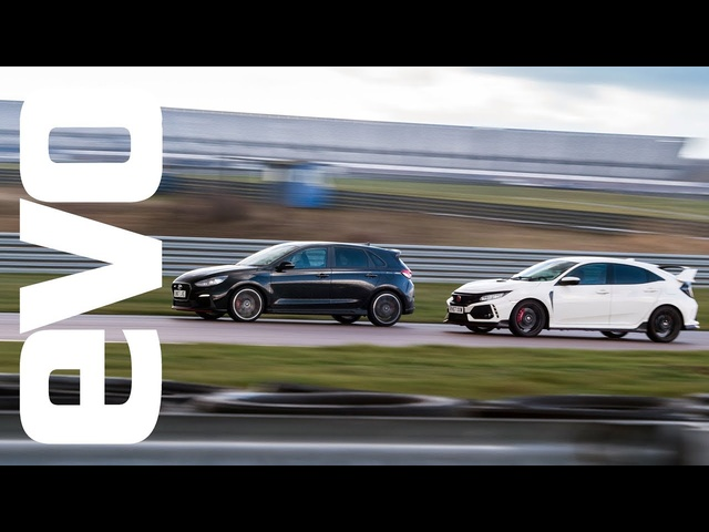 Hyundai i30 N v <em>Honda</em> Civic Type R - evo DEADLY RIVALS