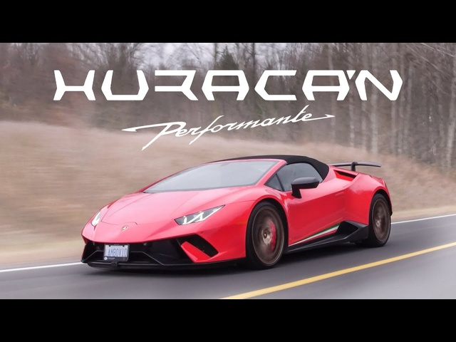 2018 <em>Lamborghini</em> Huracan Performante Spyder Review - Screaming V10
