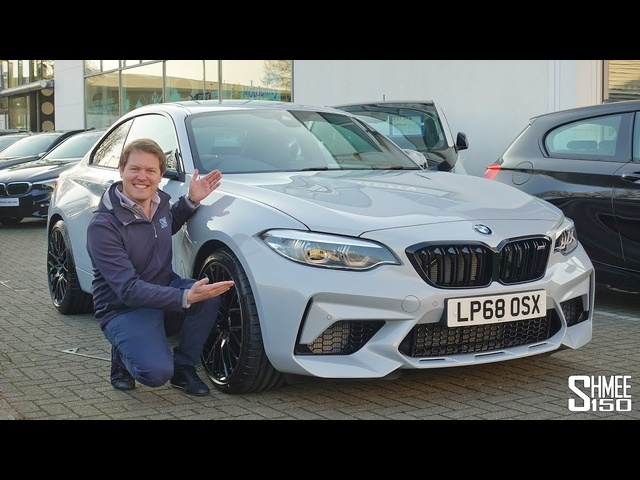 NEW CAR DAY! Collecting My Dad's BMW M2 Competition