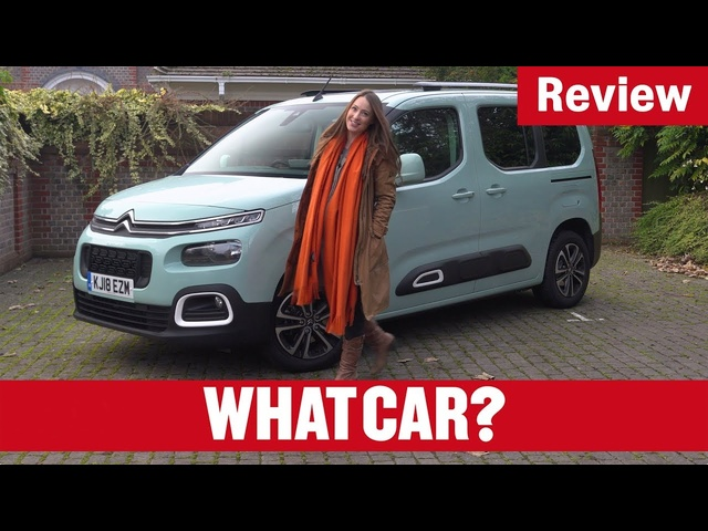 2020 Citroen Berlingo MPV review – why it's the best MPV on sale today | What Car?
