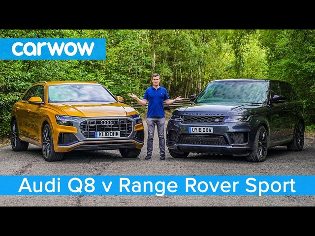 <em>Audi</em> Q8 vs Range Rover Sport 2019 - see which SUV is the best | carwow