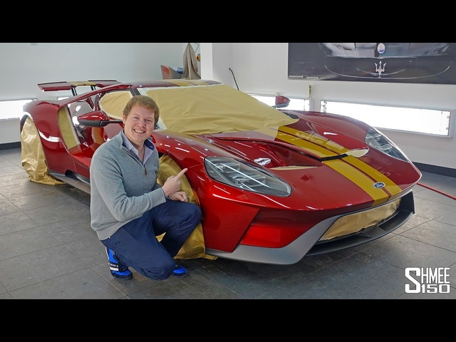 Preparing My FORD GT! Detailing at Topaz