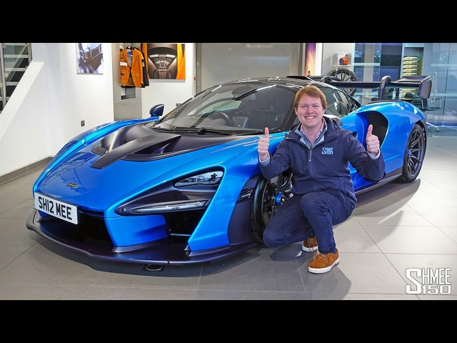 Driving My McLaren Senna for the FIRST TIME!