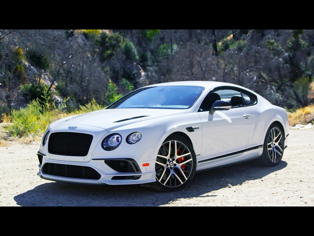 Tire Rack's Hot Lap | <em>Bentley</em> Continental GTC Supersport