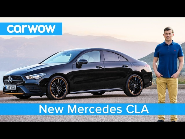 New Mercedes CLA 2019 - see why it's WAY cooler than an <em>Audi</em> A3 Saloon!