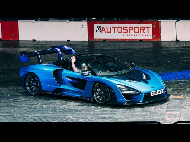Driving My McLaren SENNA in a Live Show!