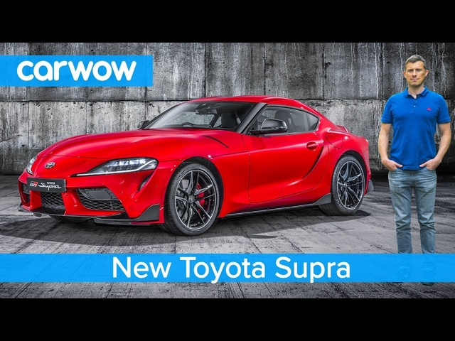 New <em>Toyota</em> Supra 2020 - EXCLUSIVE footage & everything you need to know!