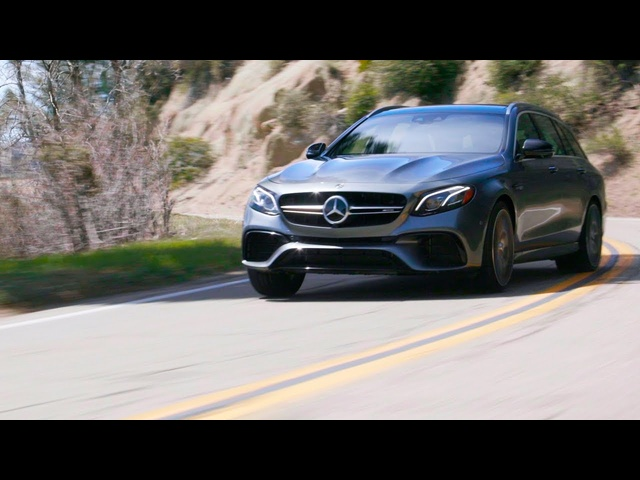 Tire Rack's Hot Lap | Mercedes Benz E63 AMG S Wagon
