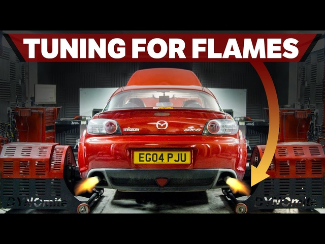 Tuning My Rebuilt <em>Mazda</em> RX-8 For Flames