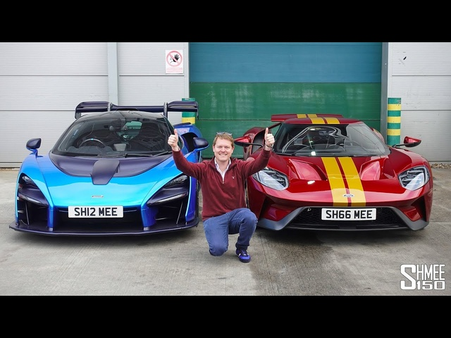 CAR SWAP at Topaz! McLaren Senna for Ford GT