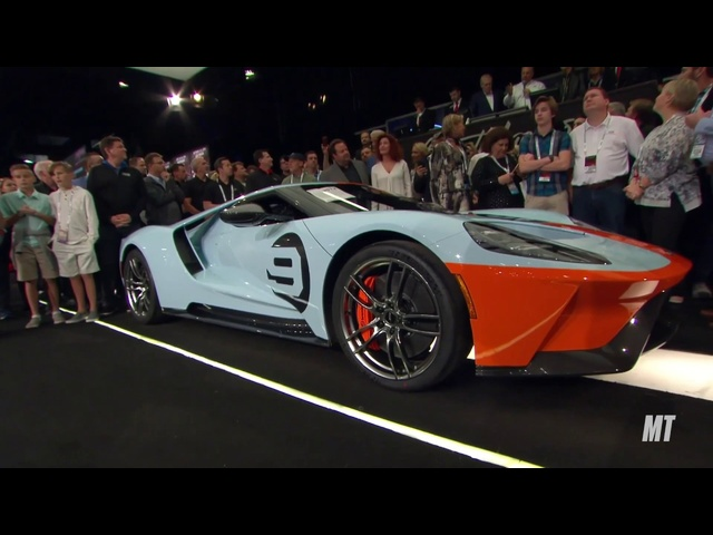 2019 Ford GT Heritage Edition (Vin 001) sells for $2.5 MILLION at Barrett-Jackson Scottsdale!