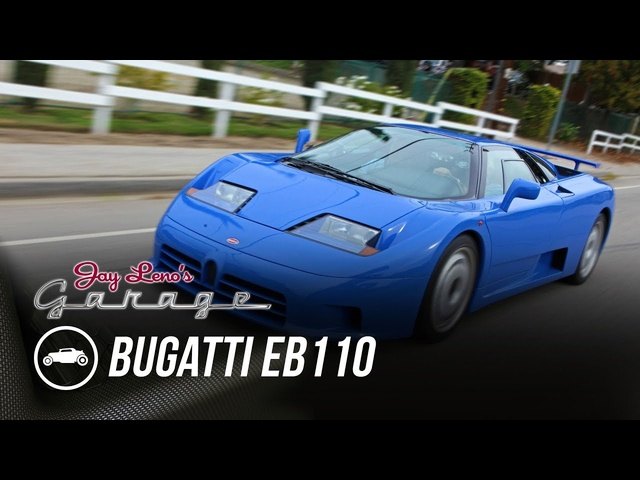 1993 Bugatti EB110 -Jay Leno's Garage