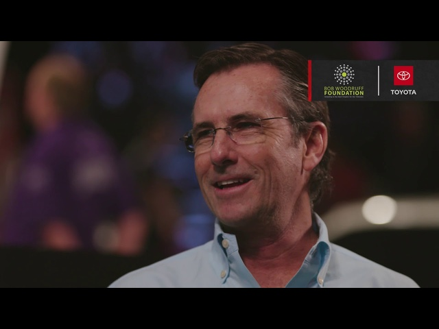 2020 Toyota Supra Charity Auction Interview - Bob Woodruff Foundation